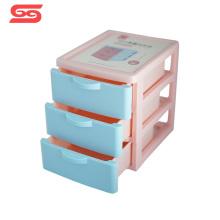 Small drawer plastic multi storage box for home