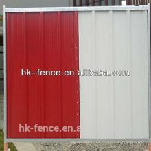 Panel de acaparamiento temporal del sitio de construcción de venta caliente