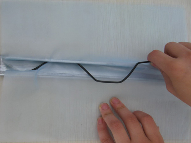 Aluminum wiggle wire with channel (2)