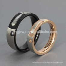 Персонализированные заявление крест кольцо, кольцо перста конструкции пару