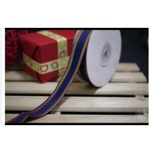 Rosa tecido personalizado de alta qualidade da fita para o empacotamento da caixa