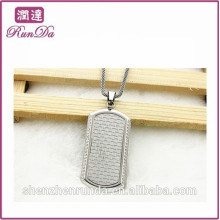2014 wholesale alibaba rectangle necklace pendant