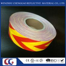 Haustier-Qualitäts-gelber und roter Pfeil-reflektierendes Material-Band