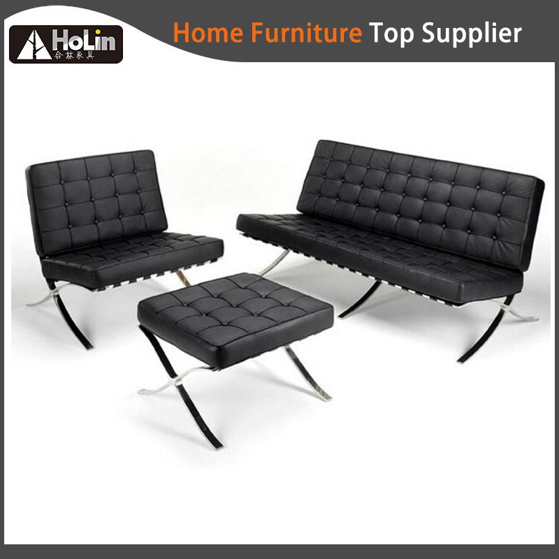 Leisure Leather Lounge Classic Designer Replica Barcelona Sofa Chair