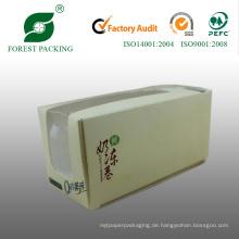 Weißer Karton Mini Cupcake Papierschachtel (FP900007)