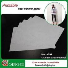 papier de transfert de chaleur léger