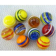 Mármol del vidrio del juguete, mármoles al por mayor del vidrio