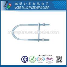 Fabricado em Taiwan SS U Bolts MPF U Bolts U Bolts