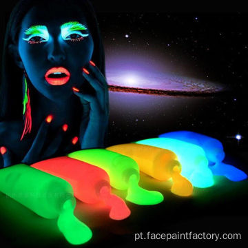 UV Neon Fluorescent Face Body Paint Kit