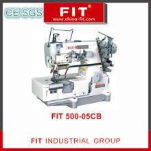 Alta velocidade do bloqueio elástico ou laço anexar a máquina com a mão direita lado tecido aparador (500-05CB)