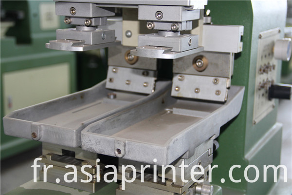 Two-color ink tray pad printers printing machinery