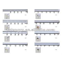 Pvc coulissant Rail rideau / plafonnier rail rideau