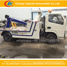 Dongfeng Wrecker Towing with Crane Road-Block Removal Truck