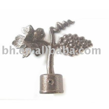 Zinc alloy decorative curtain finial