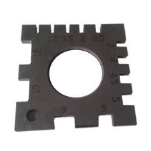 Piezas de corte láser de acero