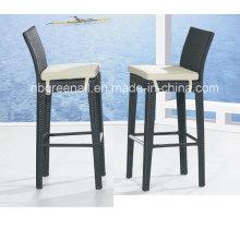 Mobiliário de Jardim Outdoor Leisure Wicker Pátio Rattan Bar Chair