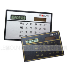 Solar Power Credit-Card Sized Calculator (LC503)
