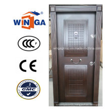 Turkey Structure Popular Sell MDF Steel Wood Armored Door (W-T17)