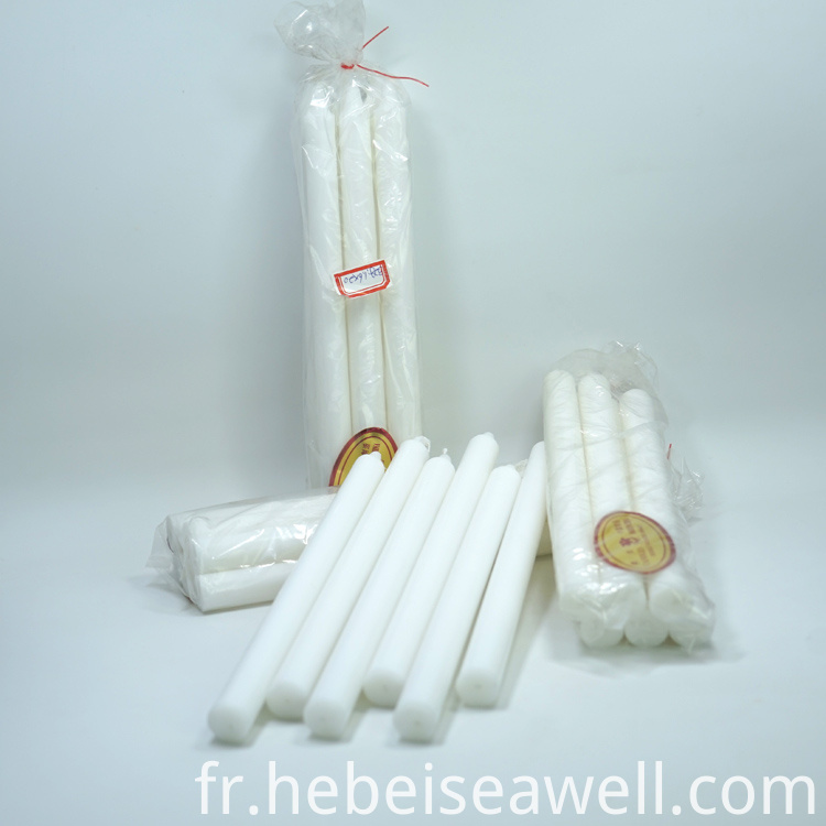 White Stick Candle 32