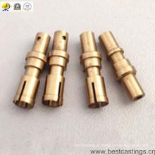 Peças giradas CNC personalizadas OEM do bronze