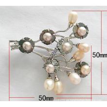 Gets.com cámara de broche de perlas de agua dulce