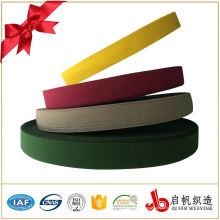 Пользовательские 1 дюймов трикотажной цветной резинке