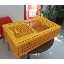Jaula de transporte de aves de corral de plástico de fábrica en venta