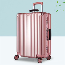 Fashionable travelling ABS PC trolley luggage suitcase
