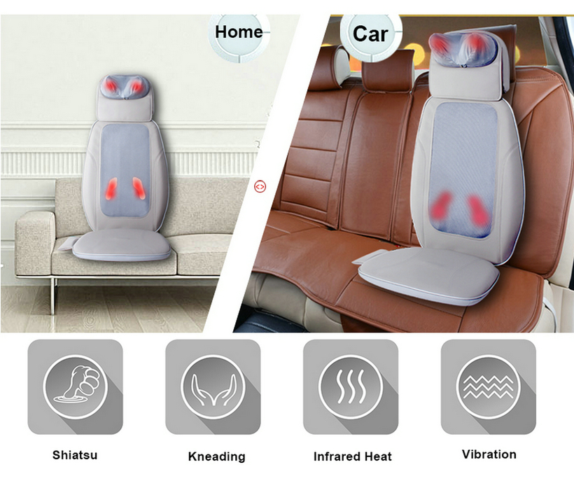 OEM Car Shiatsu Massage Cushion
