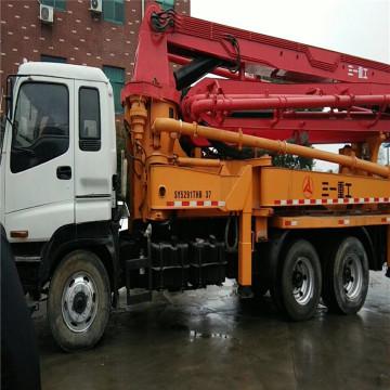 Paramètre technique de camion-pompe Sany ISUZU remanufacturé de 37 m