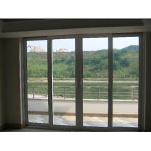 Revêtement en aluminium de qualité supérieure Bois de mélèze Fenêtres en bois, battant