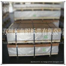 6061 t6 placa de aluminio / hoja para avión fabricado en China