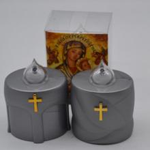 Bateria operado Flameless Judaica Memorial velas
