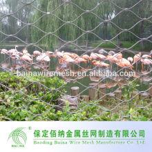 304 Acero inoxidable de alta calidad Zoo Aviary Mesh