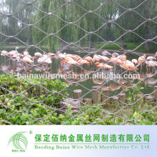 304 Нержавеющая сталь Высококачественный зоопарк Aviary Mesh