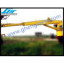 3T @ 40M ABS Certificate Telescopic Ship Deck offshore crane