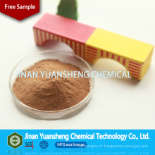 Adhésif d'engrais à base de lignosulfonate de calcium auxiliaire en cuir