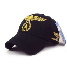 Eagle-Stickerei-Sanpback-Baseballmütze-Flecken-Sport-Kappen
