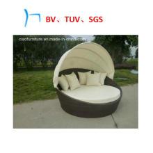 Meubles extérieurs de rotin de meubles de jardin de loisirs Sun Beds (GB-10)