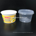 Disposable Plastic Food Container 550ml Microwave Safe