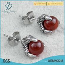 2015 Design Schmuck Frauen billig Shining Mode Doppel Mode Perle Ohrringe für Frauen