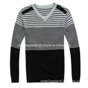 Man's Knitted Long Sleeve Clothes (SZWA-0712)