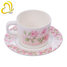 cheap modern design melamine tea cup saucer