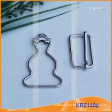 Cinturón de metal Hebilla y calabaza Botones KR5140