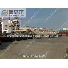 Spmt, Self propelled modular transporter, Goldhofer trailer