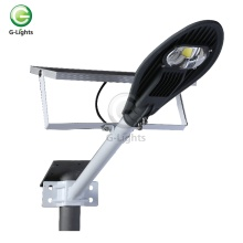 High lumen bridgelux cob IP67 waterproof 20w 30w 40w 50w 80w solar led street lamp