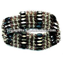 """Bracelet en violet magnétique violet Bracelet et collier 36 """""""