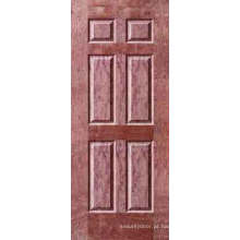 Pele da porta do folheado / pele porta Moudled (YF-V04)