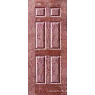 Peau de porte de placage / peau de porte Moudled (YF-V04)