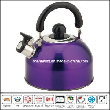 2.5L 2.0L Color Whistling Kettle